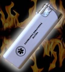 Zapalovač biely ZZS