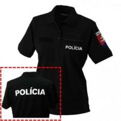 Dámska polo 2x flok POLÍCIA