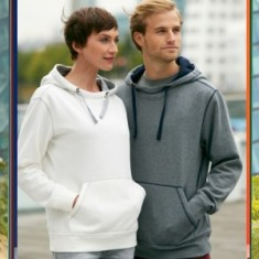 Ladies' Lifestyle Hoody Flat