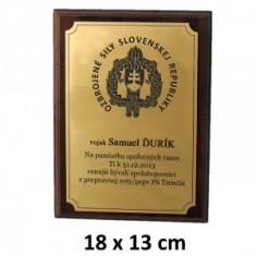 OSSR2 plaketa 18x13cm