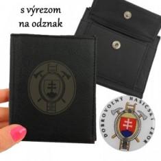 DHZ Peňaženka A vyrez,mince